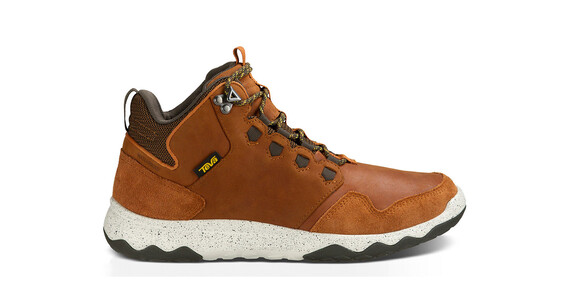 Teva Arrowood Lux Mid WP Shoes Men Cognac